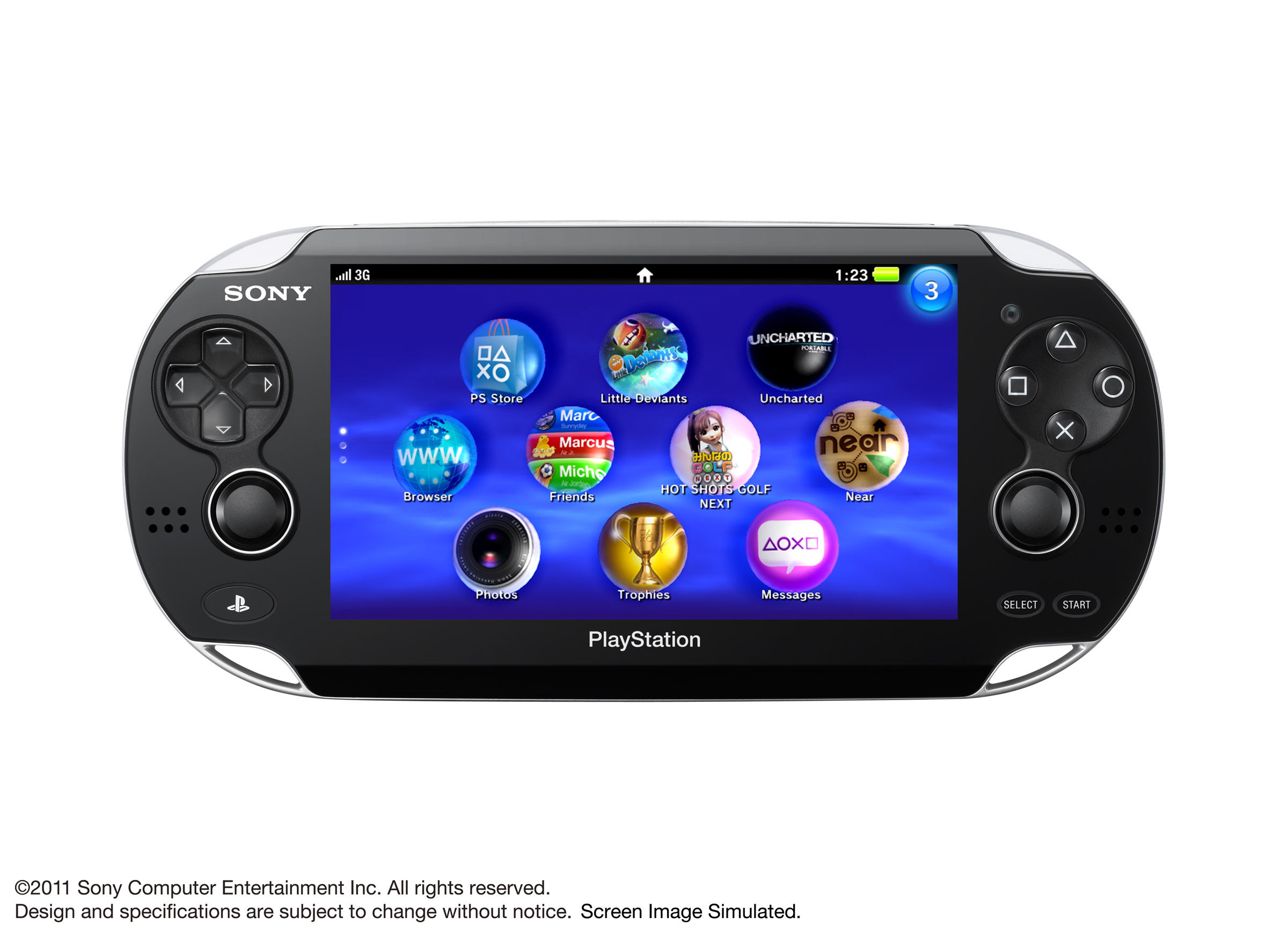 SONY Next Generation Portable Entertainment Device NGP