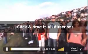3D interactive video