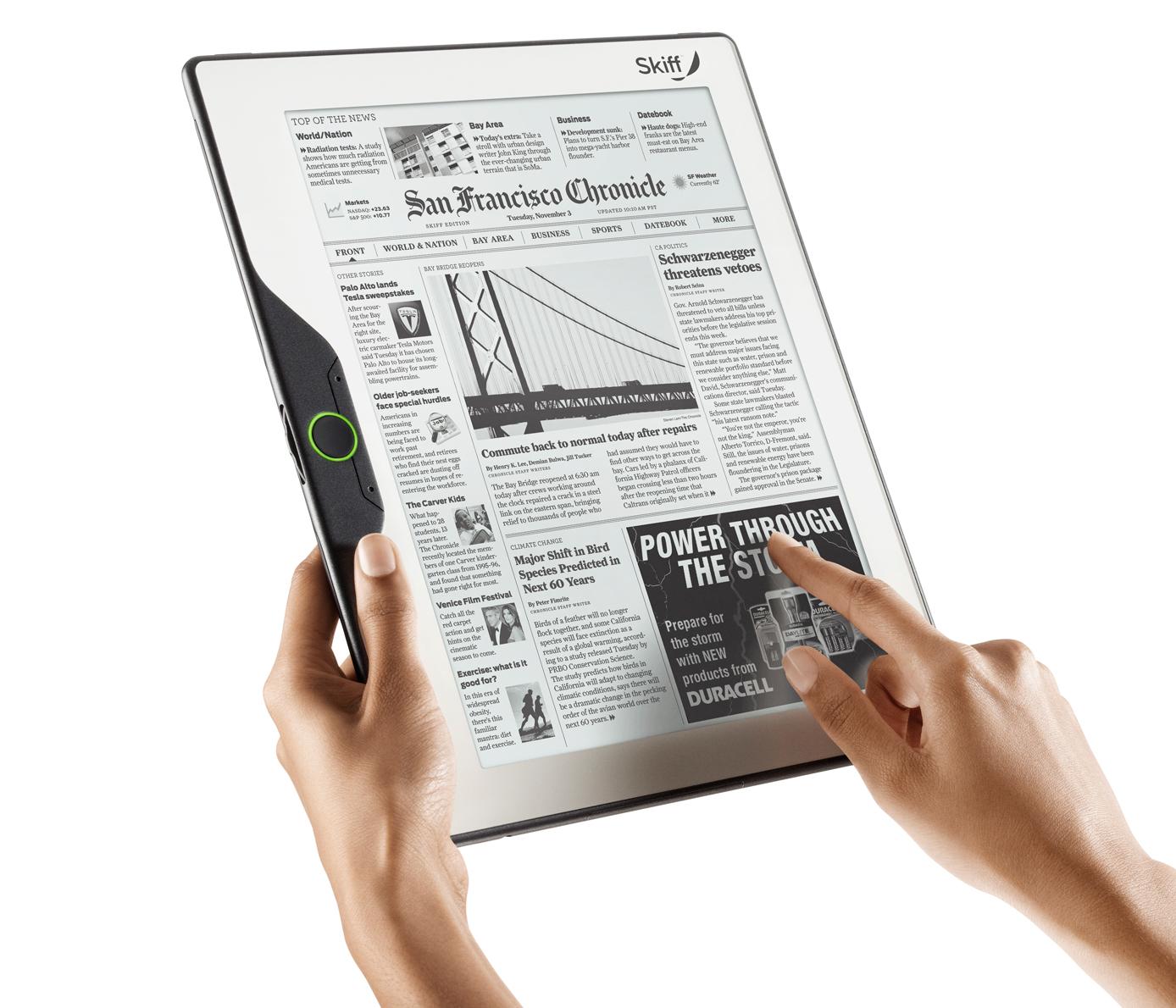 largest e-reader