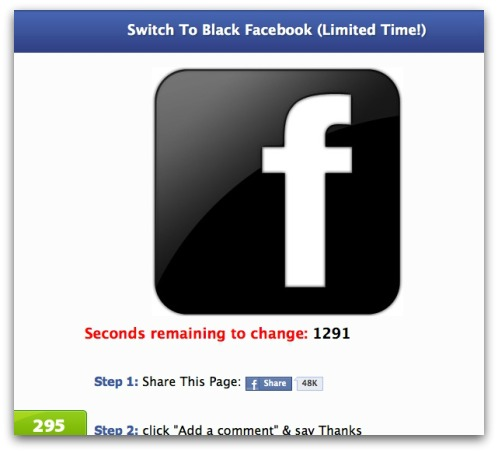 "Facebook WARNING: Avoid the ""Facebook WARNING: Avoid the ""Switch to Pink Facebook"","