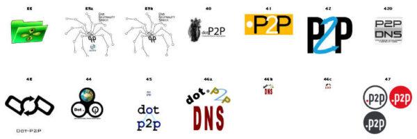 dot-p2p-logos