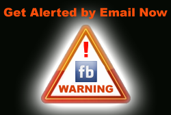 Facebook Warning Email Alerts from thepctool.com